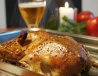 Pečená kachna po moravsku