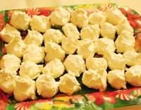 Sněhové pusinky s kokosem
