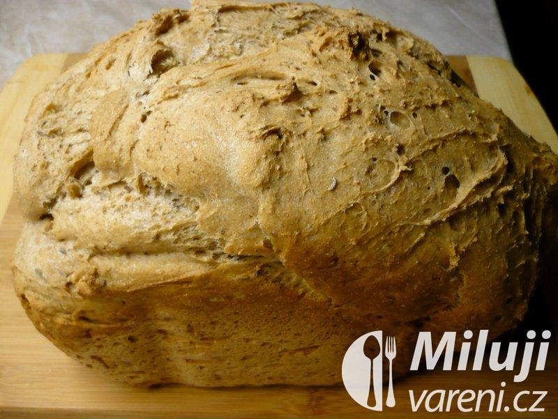 Lehký žitný chléb s kmínem