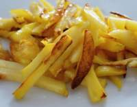 Pečené hranolky ze sladkých brambor