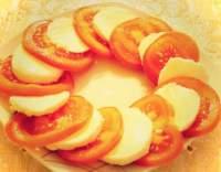 Mozzarella a rajčata