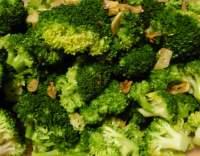 Brokolice s česnekem