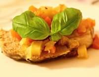 Vepřová krkovice pečená na zelenině