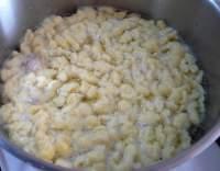 Sýrové kapání do polévek