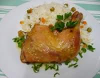 Kuře pečené na slanině