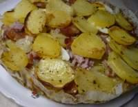 Francouzské brambory s vejci