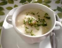 Polévka z ovesných vloček s mlékem
