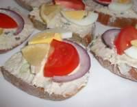 Uzená makrela s Jogurtinou