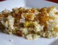 Rýže s pórkem