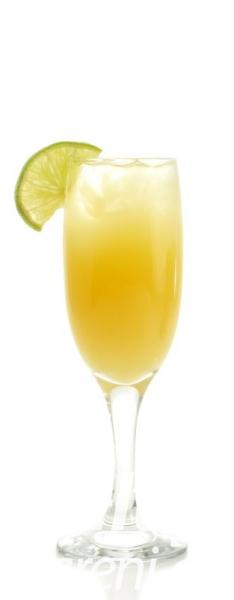 Ananasová a limetová aqua fresca