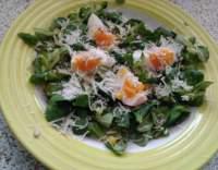 Salát s polníčkem a kukuřicí
