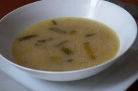 Polévka pórková s droždím