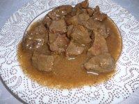 Hovězí maso na česneku