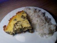 Brokolicový nákyp s parmezánem