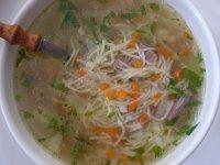 Klasická hovězí polévka