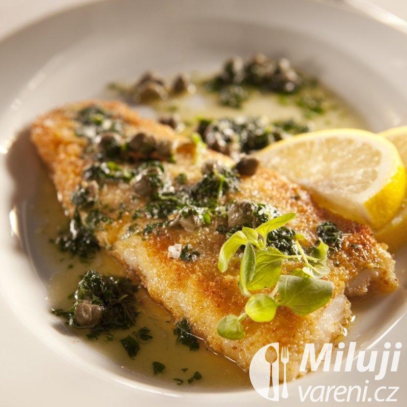 Ryba v máslové omáčce s kapary