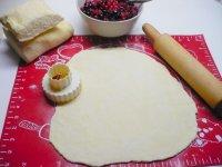 Ovocné koláčky z tvarohového těsta