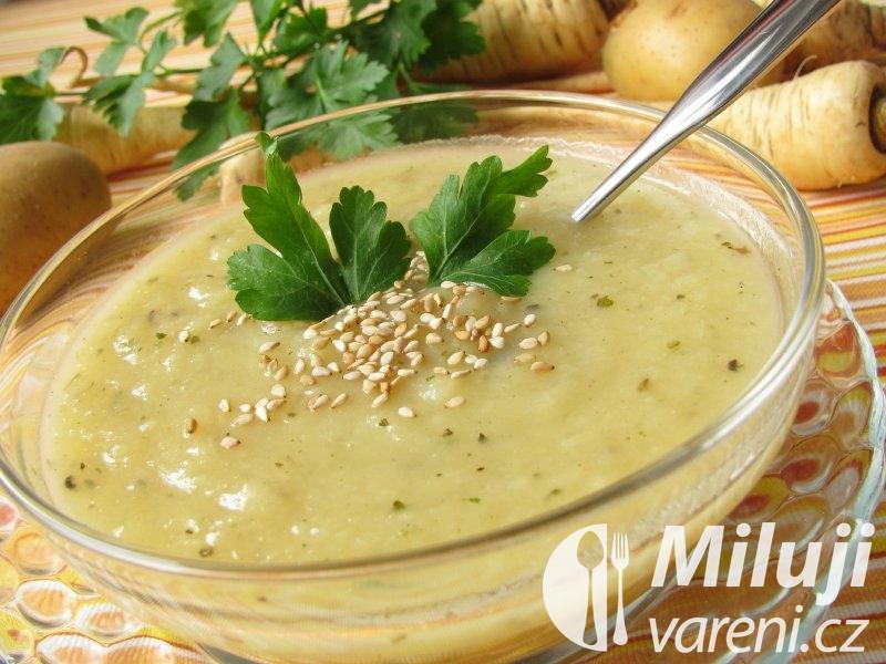 Sezamová polévka