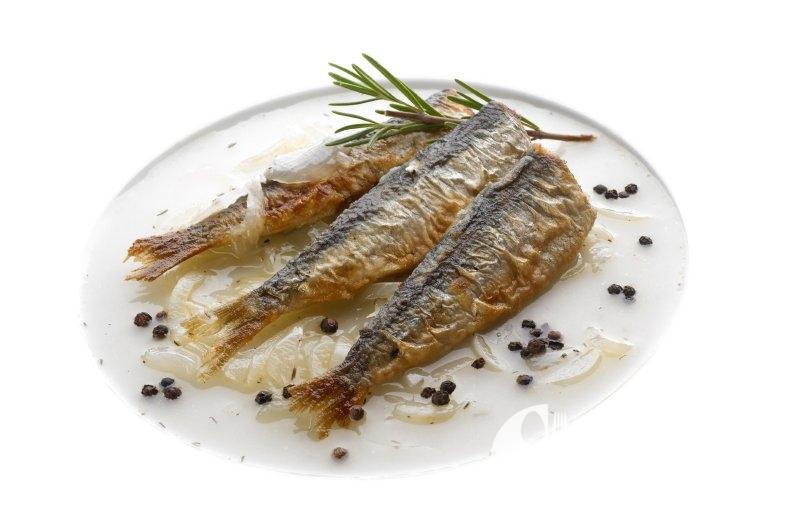 Pečené sardinky ochucené