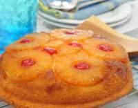 Ananasový naruby koláč