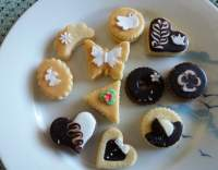 Svatební linecké cukroví