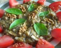 Malidžano-lilkový salát