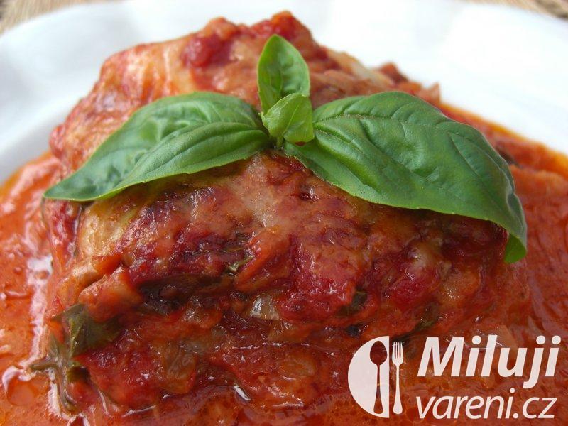 Parmigiana s cuketou