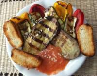 Zeleninový salát z grilu