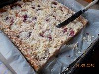 Meruňkový bezlepkový koláč s jogurtovým korpusem