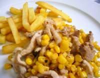 Vepřové nudličky v kukuřici