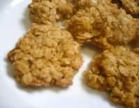 Vločkové sušenky se třtinovým cukrem