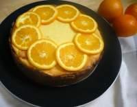 Tvarohový koláč s pomerančem