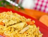 Kuřecí pilaf s rýží
