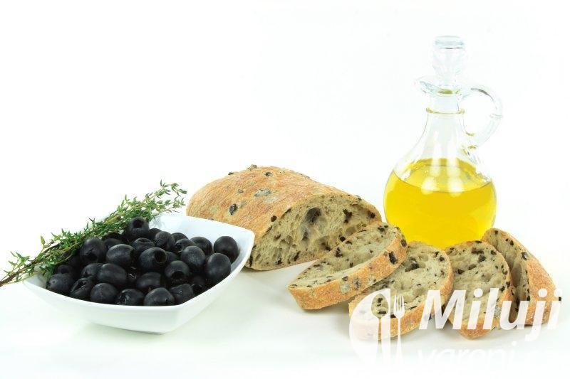 Chleba s olivami