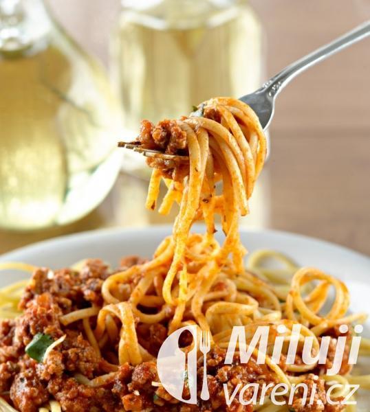 Klasické boloňské špagety