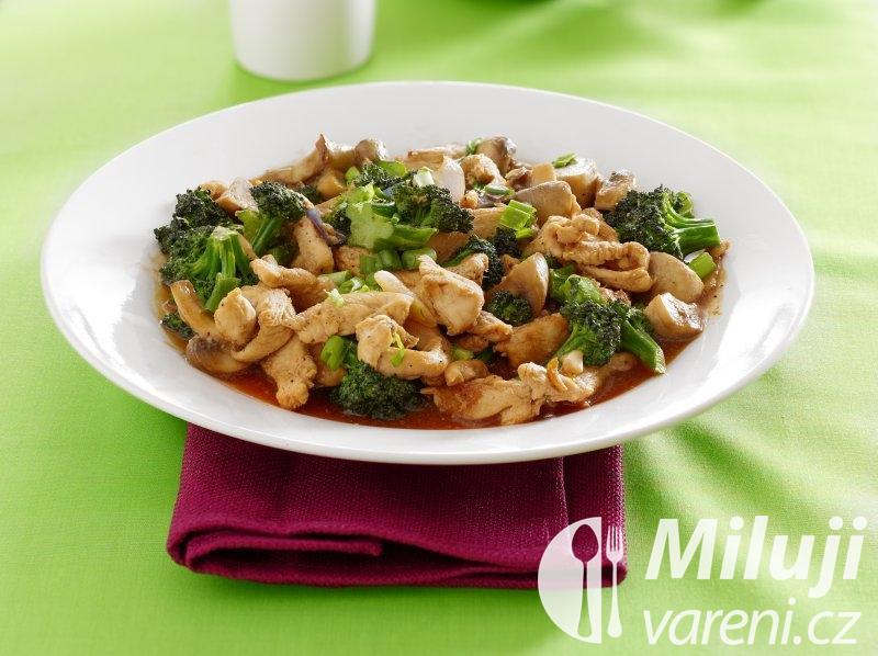 Kuře s brokolicí