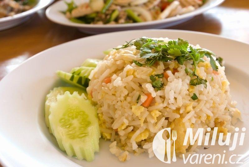 Kuřecí maso s vaječnou rýží
