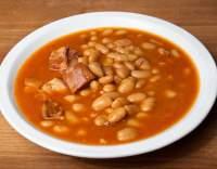 Bílé fazole s hovězím masem