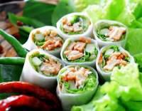 Zeleninové závitky z rýžového papíru
