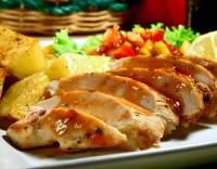 Kuřecí plátky se svěží salsou