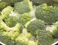 Dušená brokolice