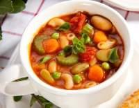 Selská polévka s fazolemi