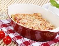 Cannelloni plněné houbami s rajčatovou omáčkou