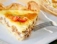 Řecký kuřecí koláč