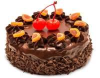 Dort s čokoládovo-smetanovou polevou
