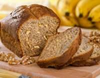 Banánový chléb s ořechy