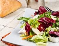 Čekankový salát s karotkou
