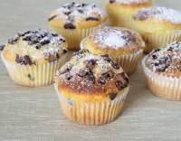 Muffiny sypané čokoládou