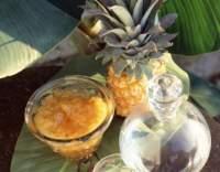 Ananasová marmeláda s brandy