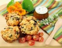 Košíčky s houbami a sýrem